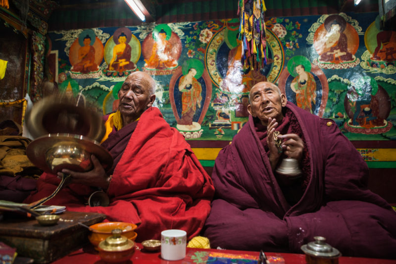 india, ladakh, religion, buddhism, gotchak, new year, himalaya