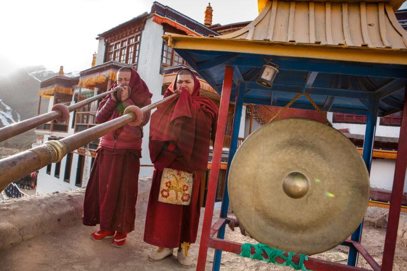 india, ladakh, religion, buddhism, gotchak, new year, himalaya